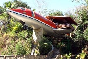 vliegtuig woning